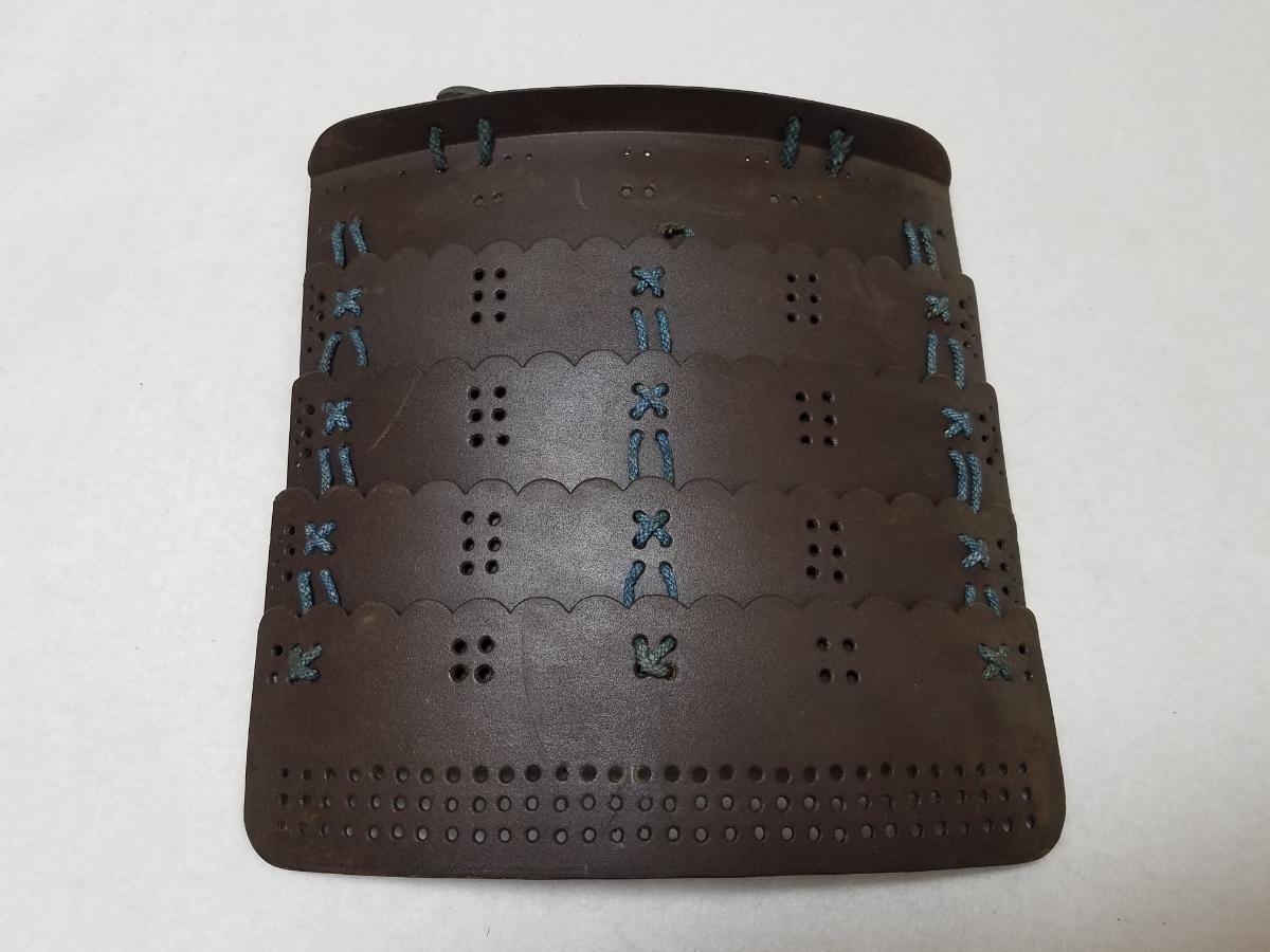 ■上級武士の袖■重い!■江戸時代■鎧兜、甲冑、武具、具足■962_画像3