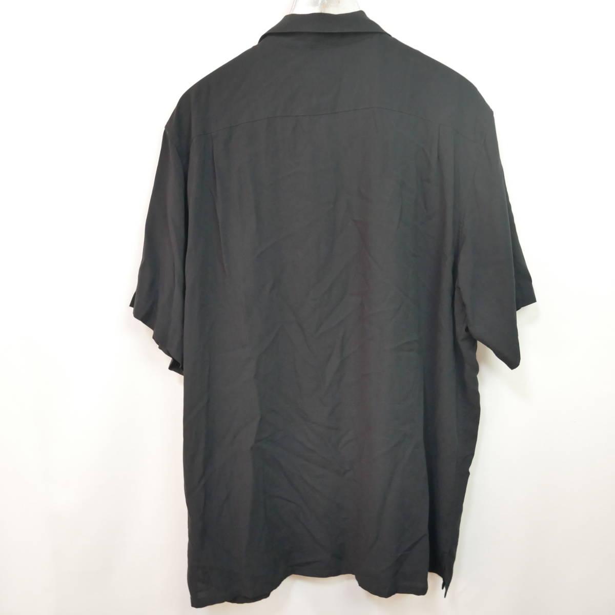 【1円】良好 国内正規 Supreme 18AW 18FW Dragon Rayon Shirt ドラゴンレーヨンシャツ Black 黒 XL_画像4