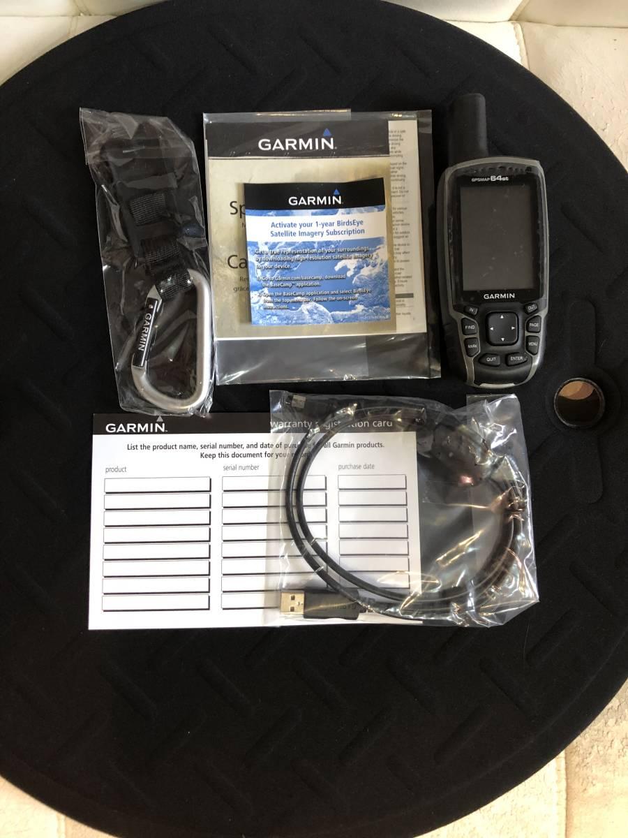 最安値 GARMIN GPSMAP64st 64sの上位モデルメモリ8G 日本語メニュー 日本地図可