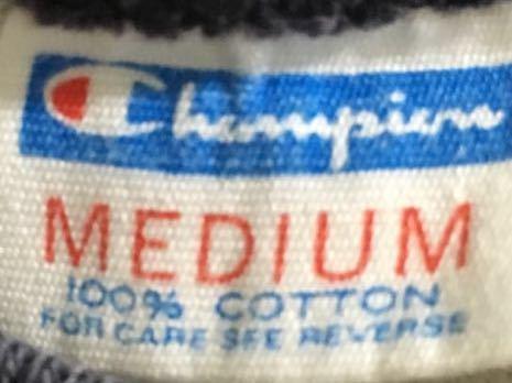 Champion バータグ USAFA リンガー Tee Tシャツ vintage サイズ M ミリタリー チャンピオン フットボール 70's ビンテージ_画像3