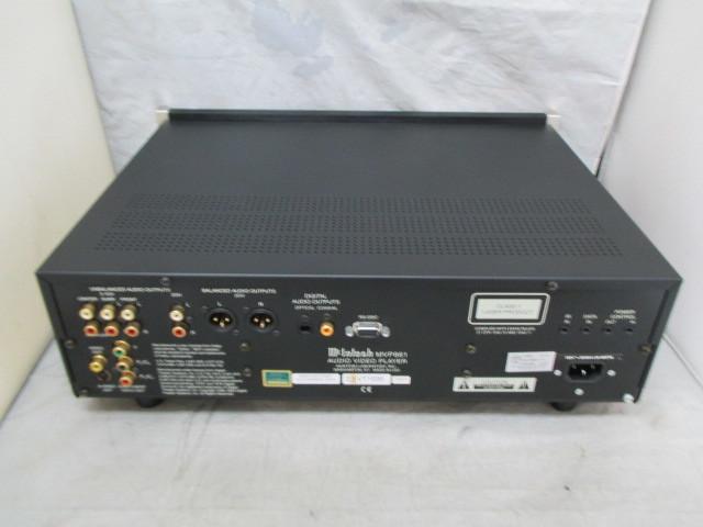 MVP861 McINTOSH 取説付き きれい SACD・CD・DVDプレーヤー マッキントッシュ_画像4
