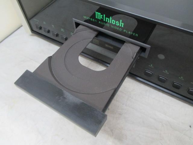 MVP861 McINTOSH 取説付き きれい SACD・CD・DVDプレーヤー マッキントッシュ_画像7