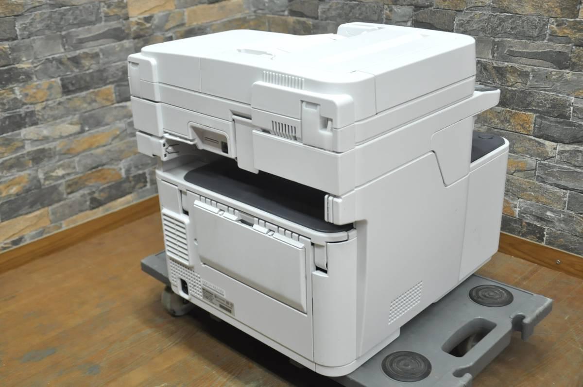★☆h009 OKI カラープリンター MC363dnw 100V カラーLED複合機 コンパクト 高速印刷 スタンダードモデル 事務 オフィス 書斎 ☆★_画像3