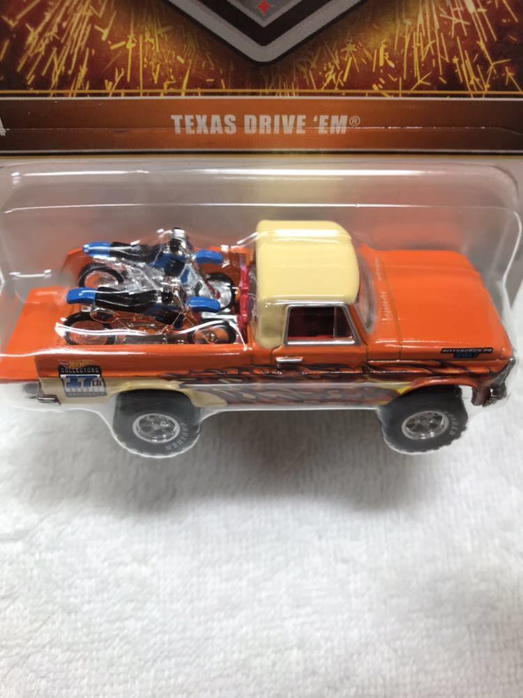 ホットウィール Hot Wheels 2017 17th ANNUAL COLLECTORS NATIONALS TEXAS DRIVE EM_画像4