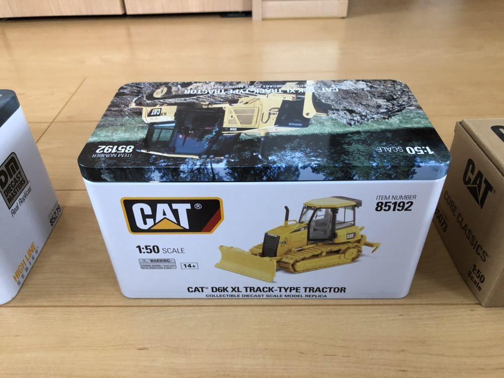 CAT 336E HYBRID(バックホー)CAT D6K(ブルドーザー)CAT 725(トラック)1/50スケール_画像3