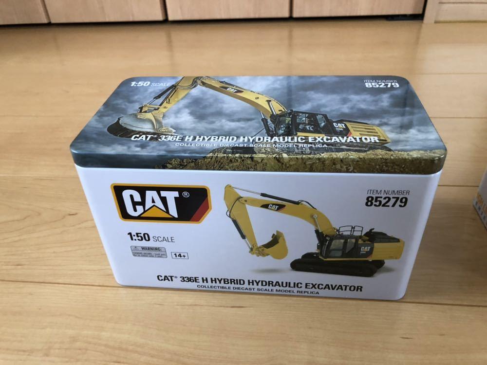 CAT 336E HYBRID(バックホー)CAT D6K(ブルドーザー)CAT 725(トラック)1/50スケール_画像2