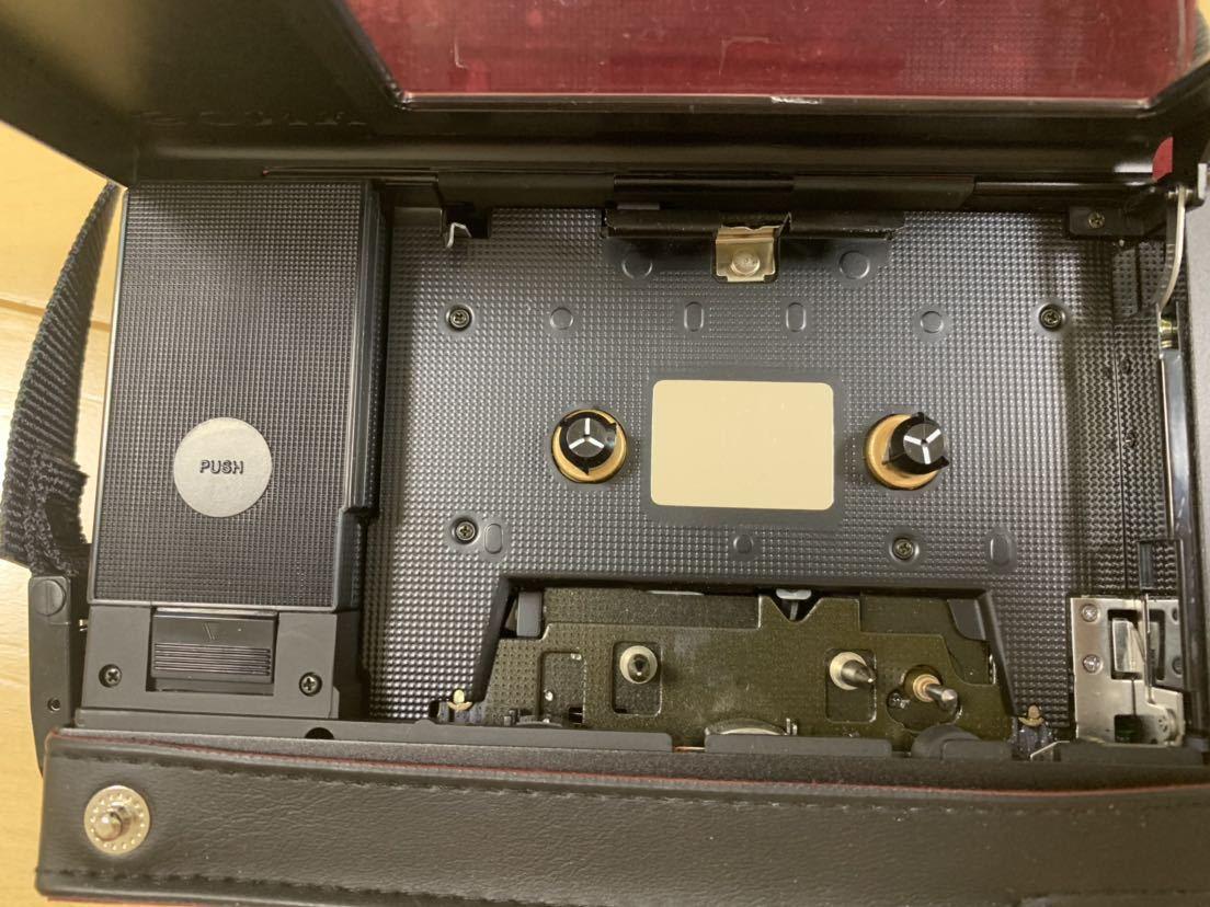 希少 レア SONY WALKMAN ウォークマン プロフェッショナル WM-D6C 箱、レザーケース 付属品_画像8