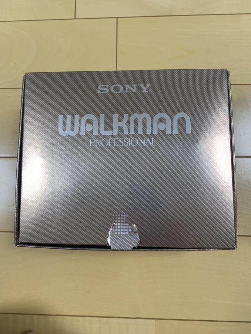 希少 レア SONY WALKMAN ウォークマン プロフェッショナル WM-D6C 箱、レザーケース 付属品