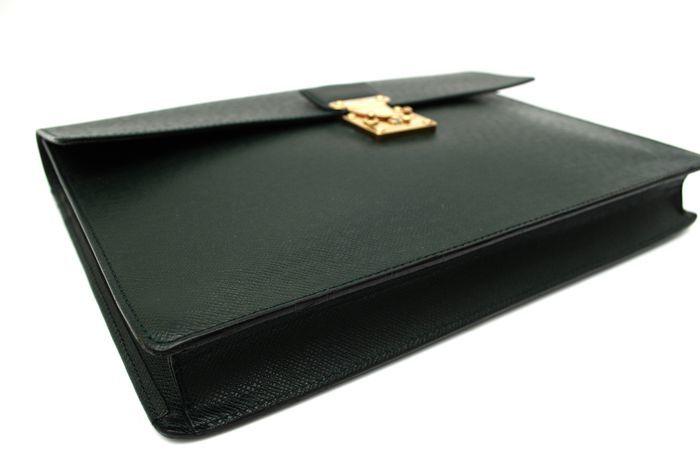 【使用僅か 極美品】 ルイ ヴィトン Louis Vuitton タイガ セルヴィット クラド ビジネスバッグ ブリーフケース メンズ バッグ 定価約16万_画像7