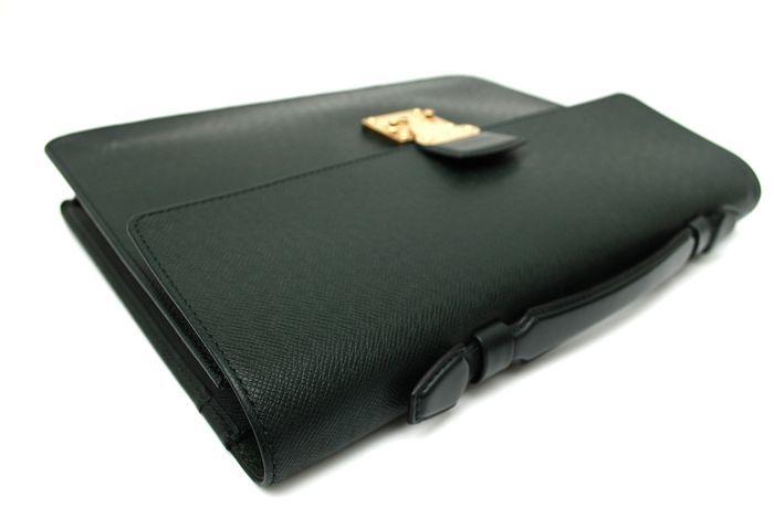 【使用僅か 極美品】 ルイ ヴィトン Louis Vuitton タイガ セルヴィット クラド ビジネスバッグ ブリーフケース メンズ バッグ 定価約16万_画像5