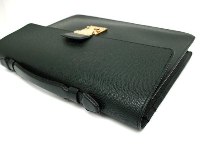 【使用僅か 極美品】 ルイ ヴィトン Louis Vuitton タイガ セルヴィット クラド ビジネスバッグ ブリーフケース メンズ バッグ 定価約16万_画像6