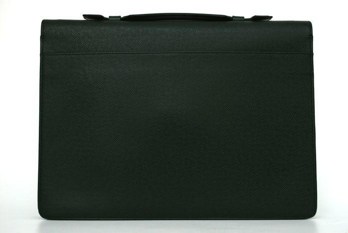 【使用僅か 極美品】 ルイ ヴィトン Louis Vuitton タイガ セルヴィット クラド ビジネスバッグ ブリーフケース メンズ バッグ 定価約16万_画像4