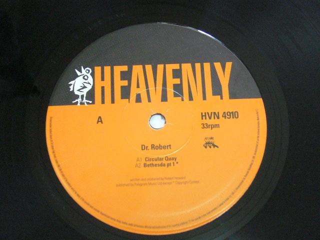 "10"" / DR ROBERT / CIRCULAR QUAY / 1995年盤 / HVN 4910 / UK盤 / 試聴検査済み_画像3"