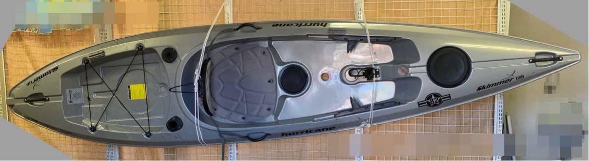 ハリケーンカヤックス スキマー116 skimmer 116_画像5