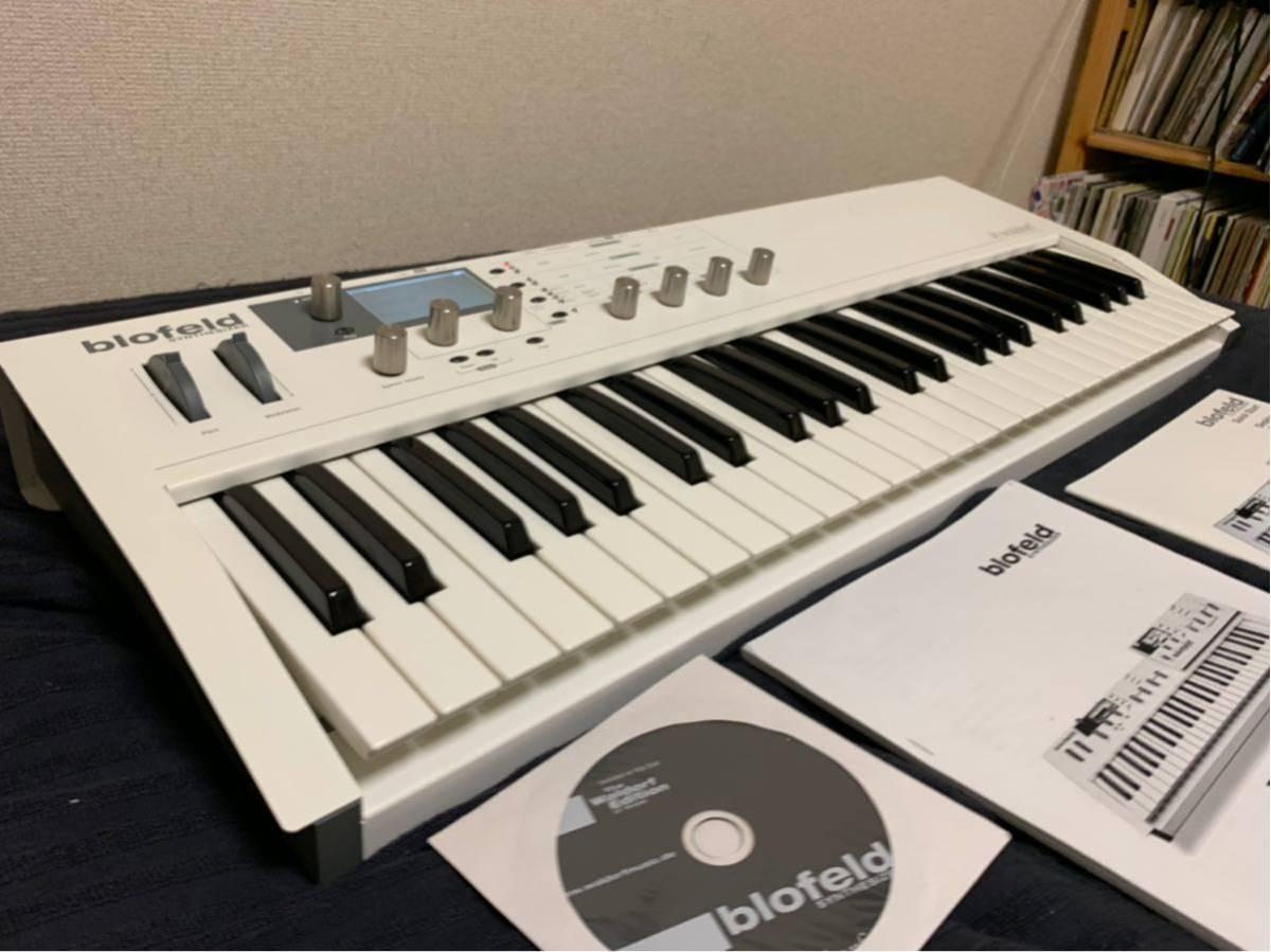 送料込み Waldorf Blofeld Keyboard ノブに難あり それ以外は完動品_画像2