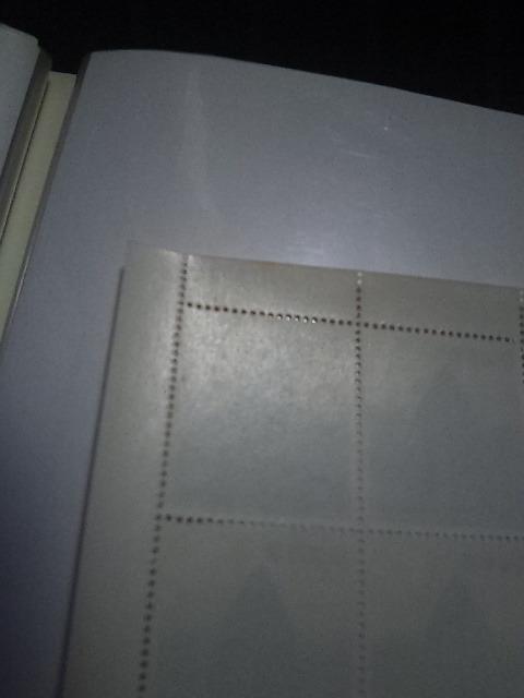 未使用切手 1965年 国土緑化 10円シート シミあり_画像4