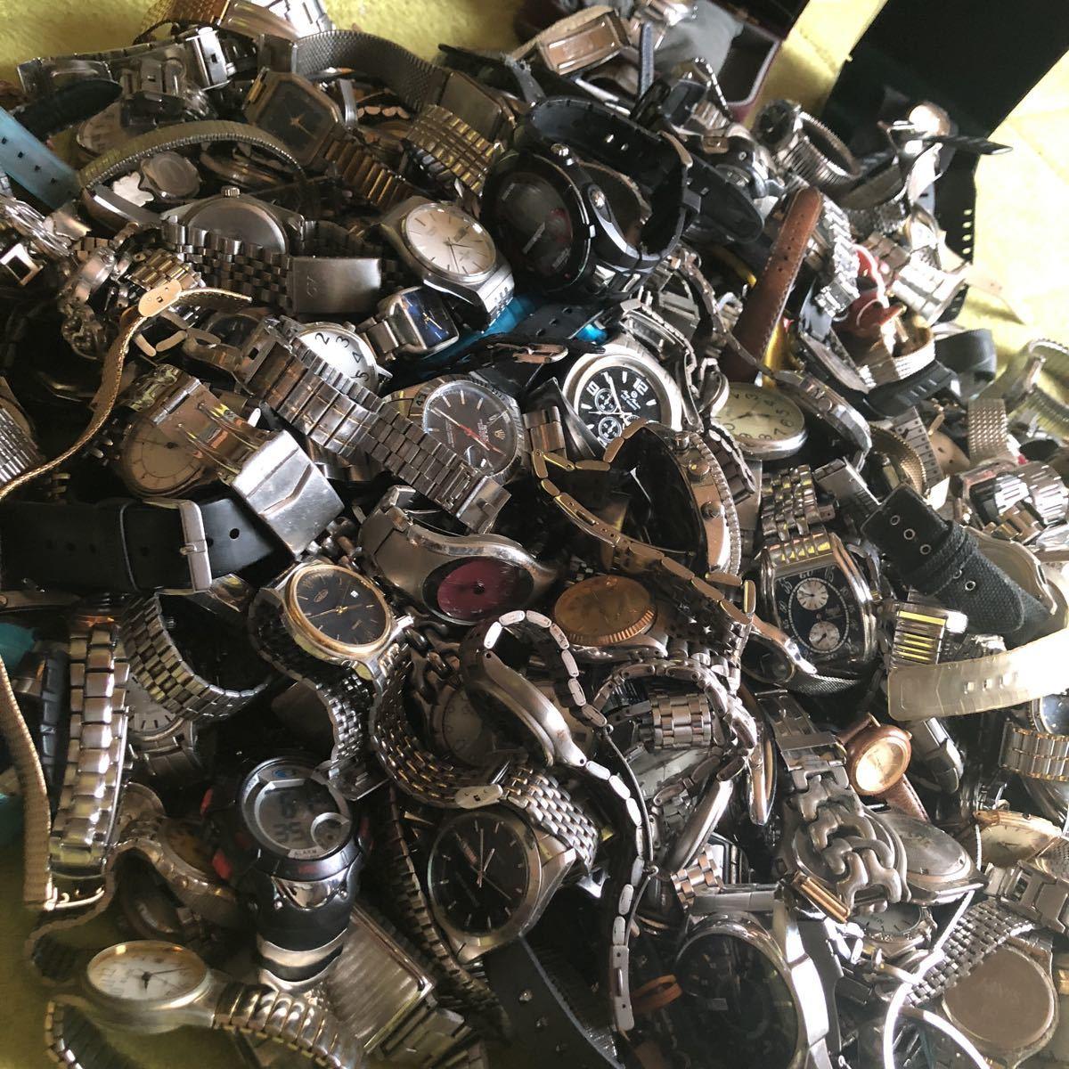 SEIKO CITIZEN カシオ CASIO DIESEL 他 各種ブランドメンズ腕時計 レディース腕時計 大量おまとめセット 約 31kg