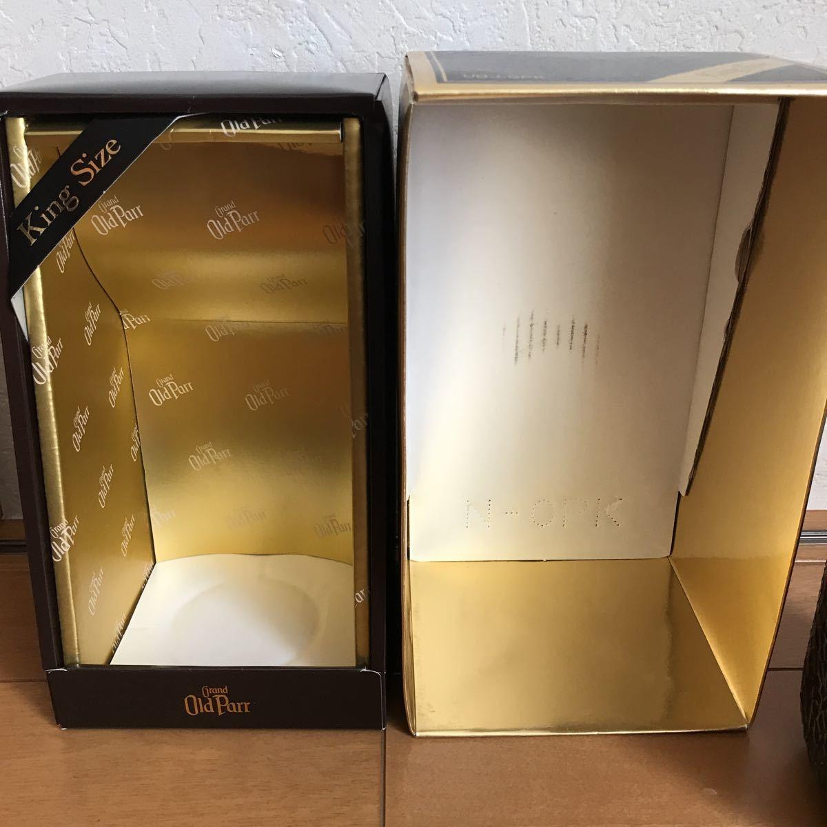 新品 未開封 古酒 グランド オールドパー 12年 43% 1l 箱入り キングサイズ_画像4