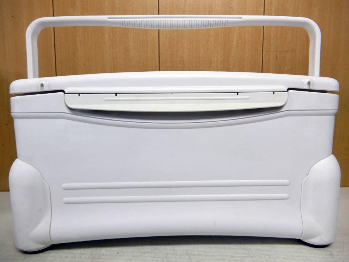 Shimano シマノ クーラーボックス ★ スペーザ リミテッド 24L ★ HC-024B ★ トレイ・スノコ付き 良品_画像2