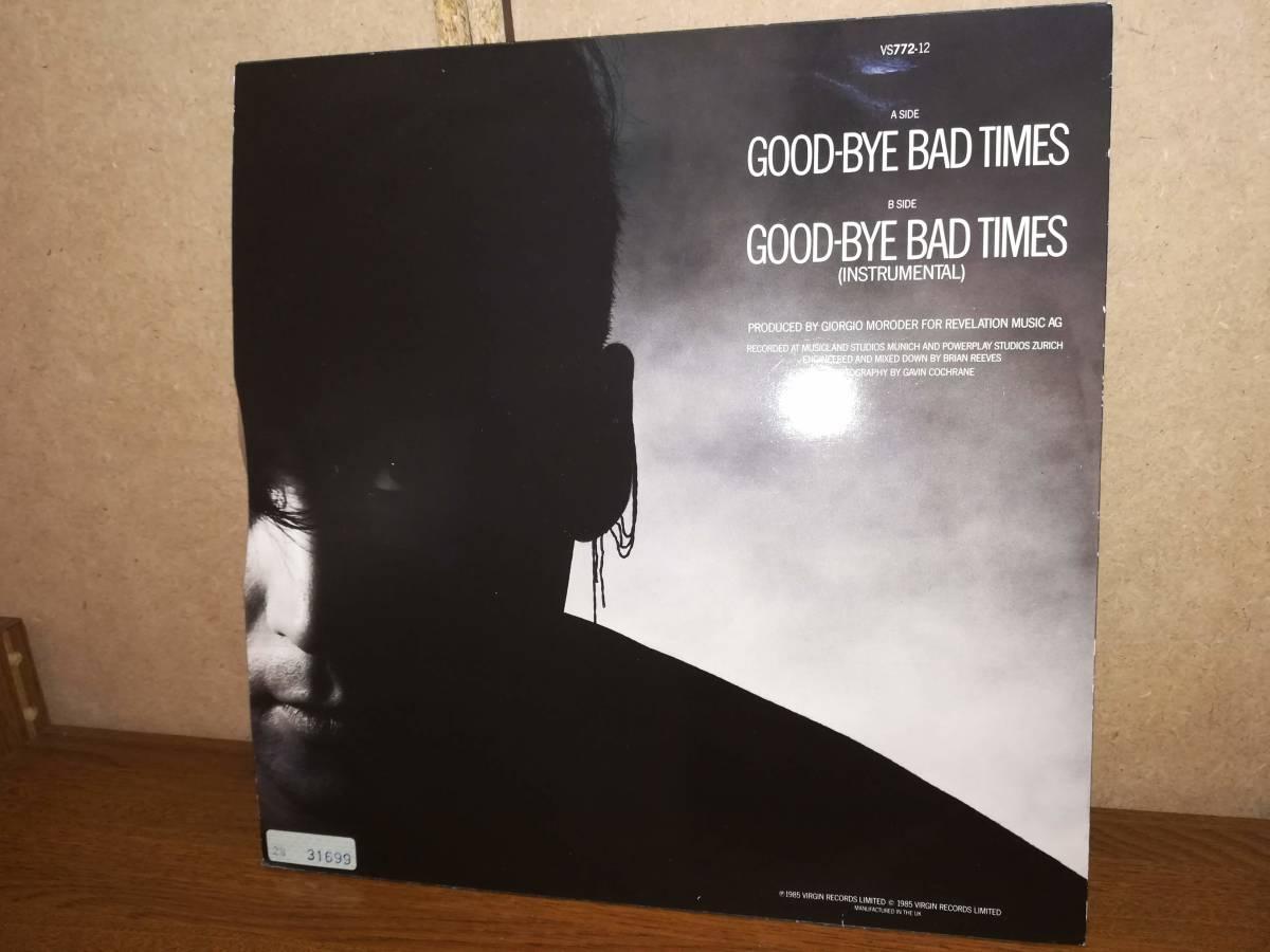 L0240◆12 / Philip Oakey & Giorgio Moroder / Good-Bye Bad Times / フィル・オーキー、 ジョルジオ・モロダー_画像2