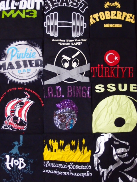 ◆古着卸USA■ブラック☆アメリカンTシャツ24枚セット★★★XL  黒 アメリカ直輸入_画像3