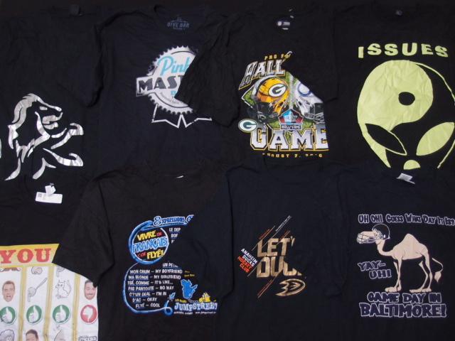 ◆古着卸USA■ブラック☆アメリカンTシャツ24枚セット★★★XL  黒 アメリカ直輸入_画像6