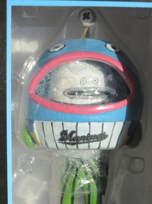 千葉ロッテマリーンズ ☆ ボブルヘッド ドール ☆ 謎の魚 【未使用品】 千葉 ロッテ マリーンズ フィギュア 魚 【送料無料】_画像1