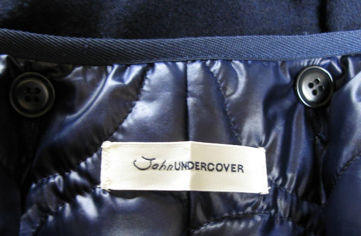 ジョン アンダーカバー John UNDER COVER:モッズ コート 3 ( coat タータンチェック ライナー付き ラクーンファー coat_画像6