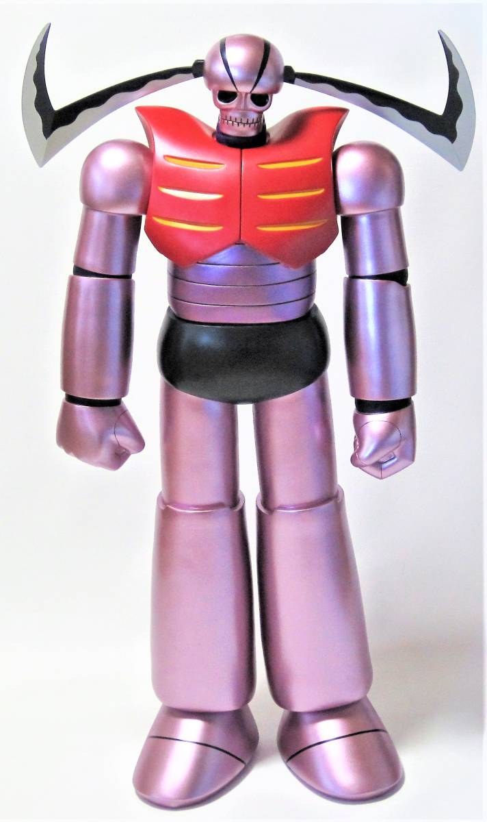 フューチャーモデル限定 ギガバイトソフビシリーズ マジンガーZ 機械獣ガラダK7 モデリングカラーVer. 80cm 新同品・中身美品・希少 _画像3