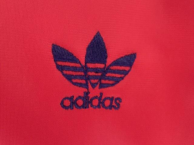 アディダス ATPジャージ フランス製 レッド&ブラックミントコンディション VENTEX made in FRANCE 70s 青タグ ヴィンテージ adidas_画像4