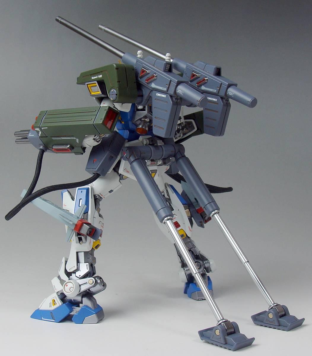 1/100 MG ガンダムF90+ミッションパックE&S型 改造塗装済み完成品_画像7