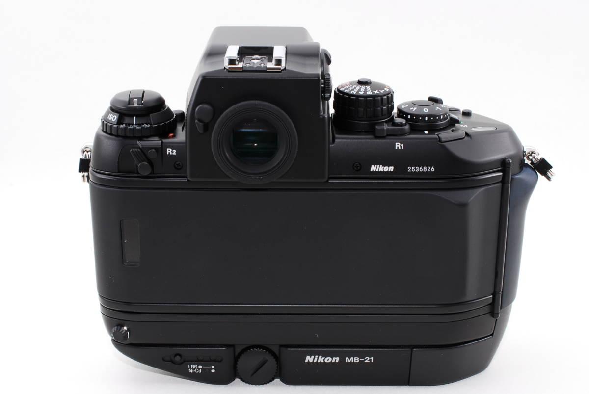 希少★ニコン Nikon F4s 253番台 ほぼ最終 後期★奇跡の新品★元箱付★未使用品_画像5