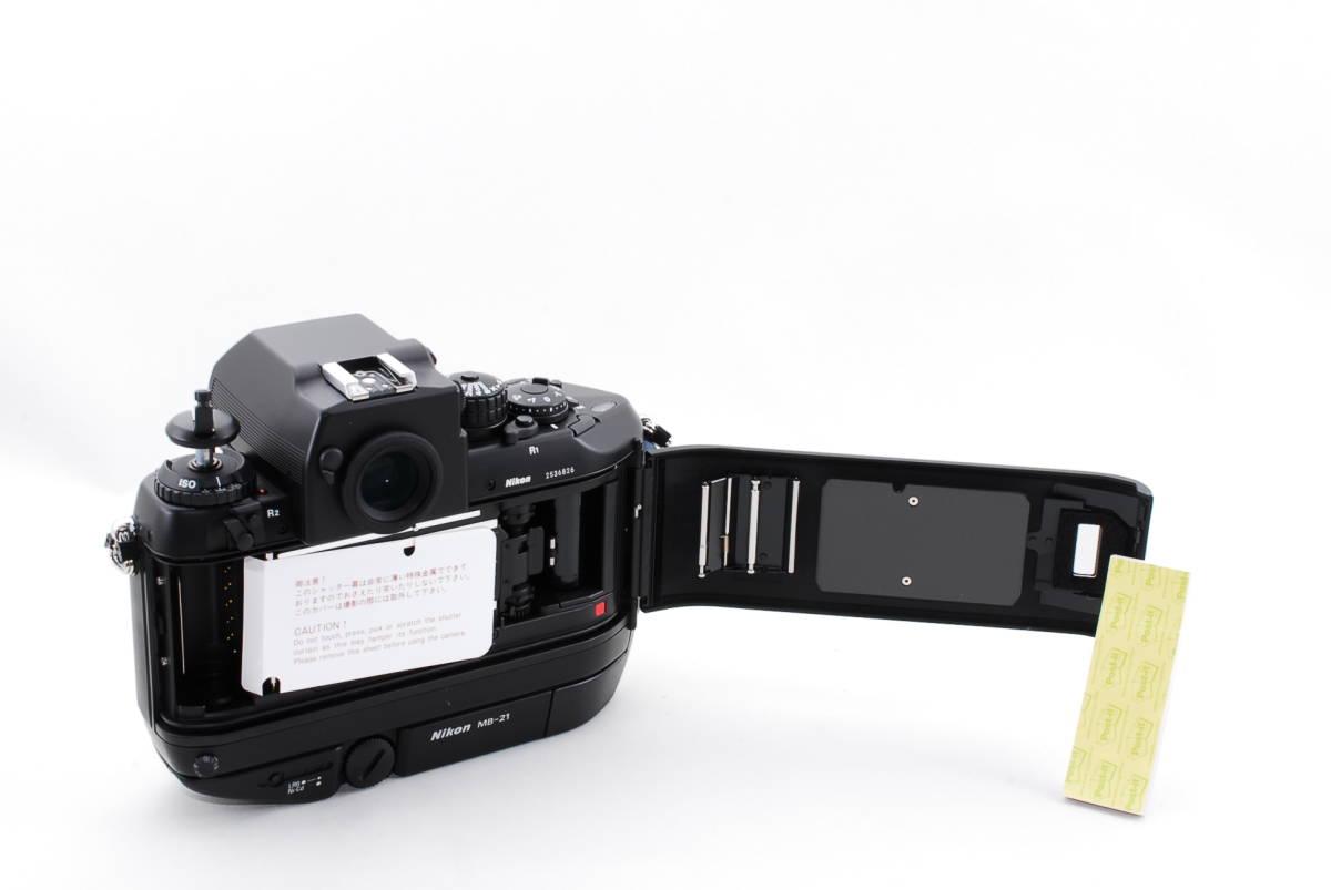 希少★ニコン Nikon F4s 253番台 ほぼ最終 後期★奇跡の新品★元箱付★未使用品_画像6