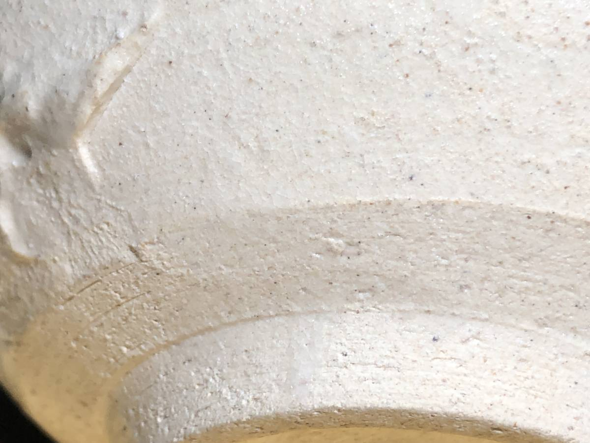 O20 逸品 ととや(斗々屋)意 茶碗 初代 「川瀬竹春(川瀬竹扇)」造 晩年作 共布 共箱 本物保証 古余呂技窯/ 茶道具 煎茶道具 三浦竹泉_画像8