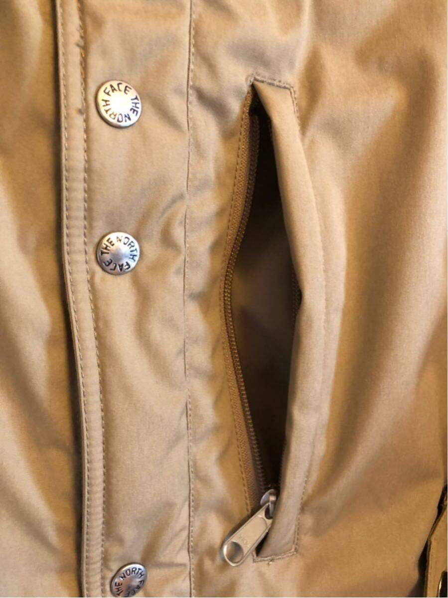 【THE NORTH FACE PURPLE LABEL 】 65/35 BAYHEAD CROSS MOUNTAIN SHORT DOWN PARKA ベージュ/Mサイズ_画像5