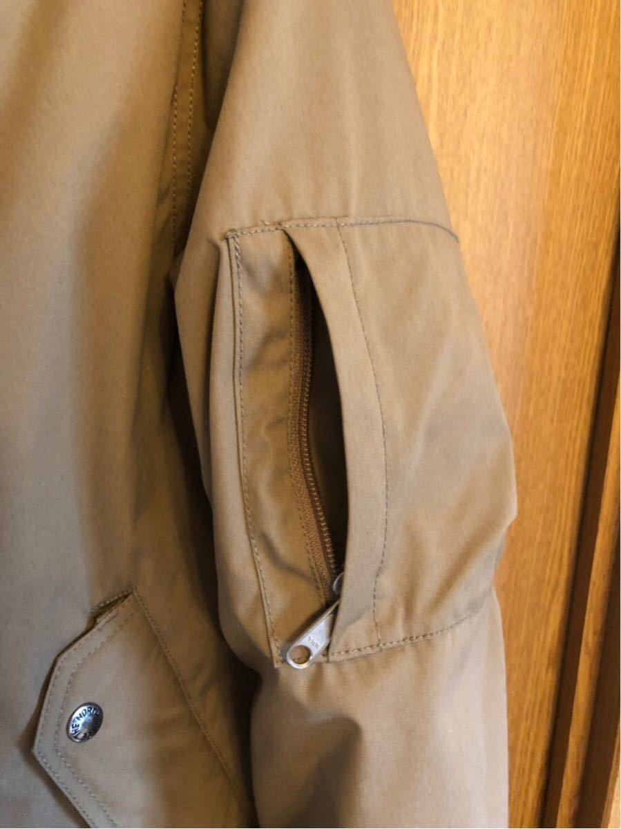 【THE NORTH FACE PURPLE LABEL 】 65/35 BAYHEAD CROSS MOUNTAIN SHORT DOWN PARKA ベージュ/Mサイズ_画像6