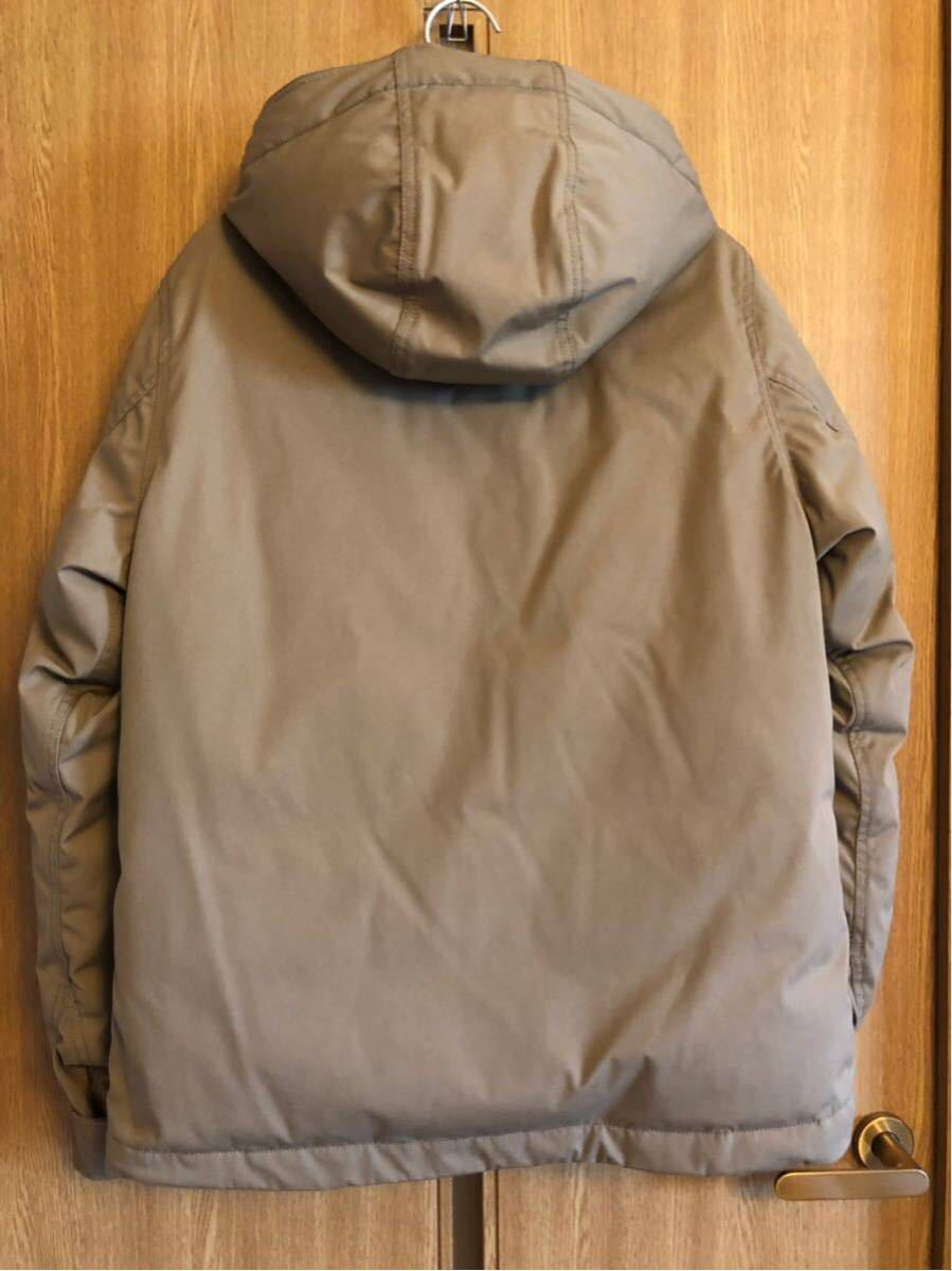 【THE NORTH FACE PURPLE LABEL 】 65/35 BAYHEAD CROSS MOUNTAIN SHORT DOWN PARKA ベージュ/Mサイズ_画像2