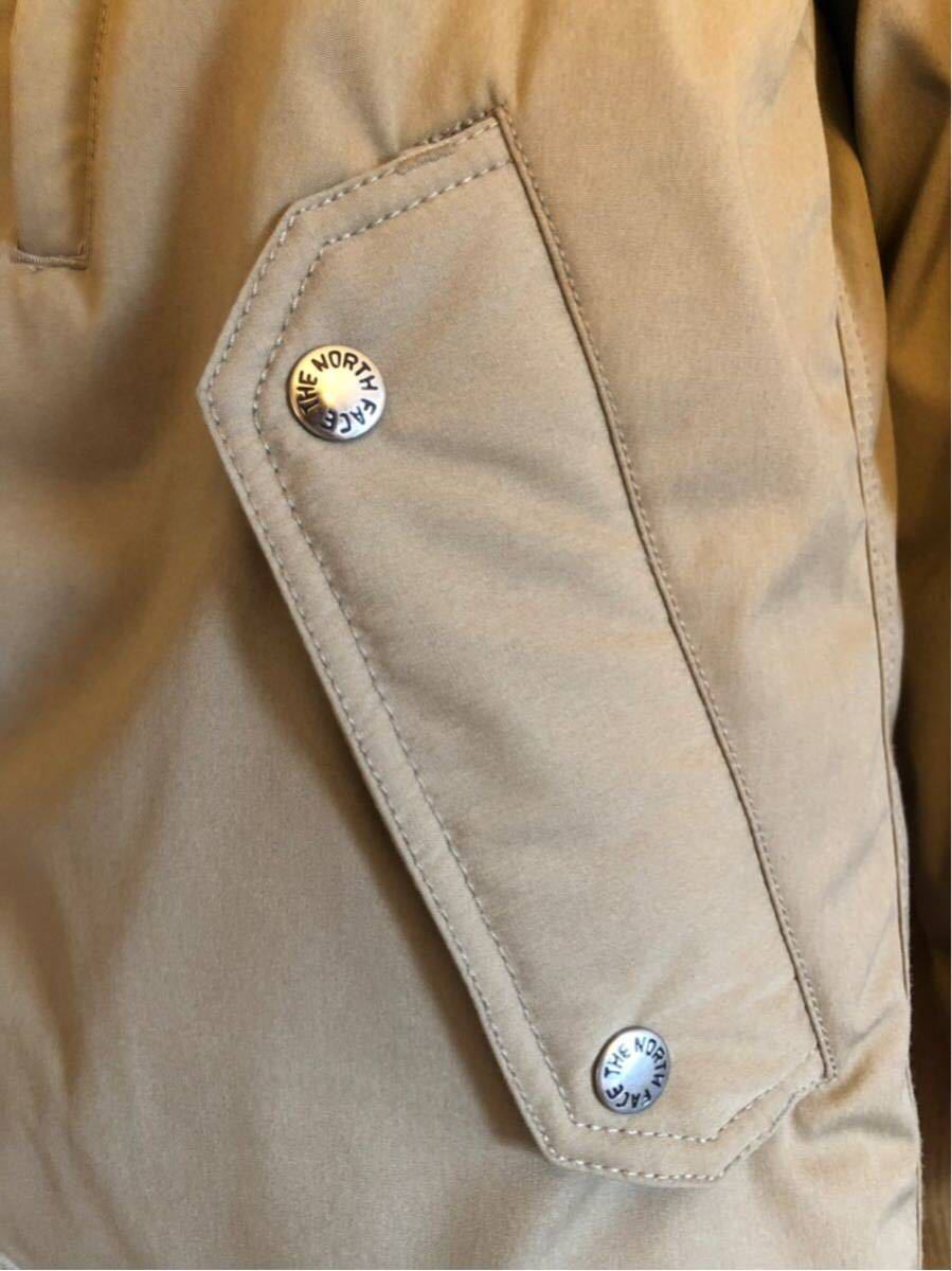 【THE NORTH FACE PURPLE LABEL 】 65/35 BAYHEAD CROSS MOUNTAIN SHORT DOWN PARKA ベージュ/Mサイズ_画像7