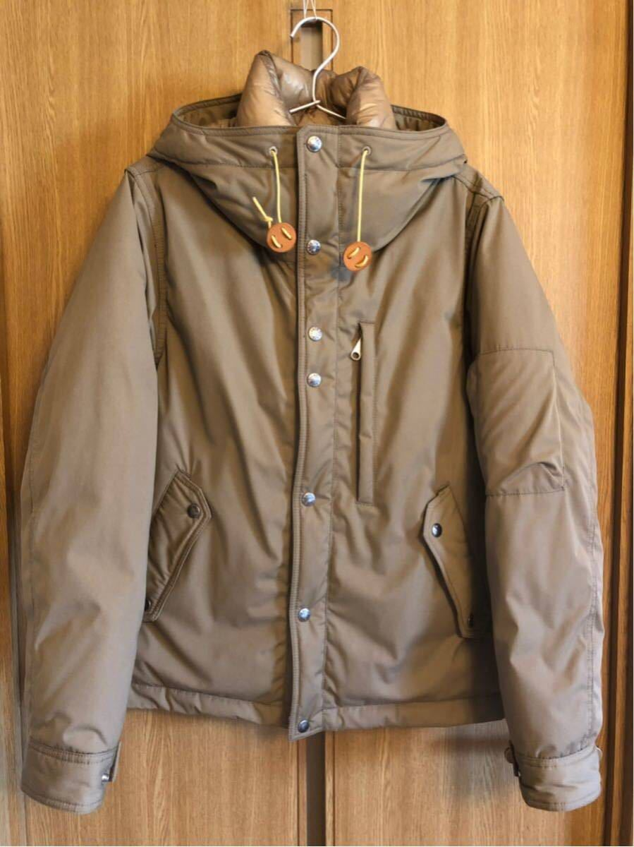 【THE NORTH FACE PURPLE LABEL 】 65/35 BAYHEAD CROSS MOUNTAIN SHORT DOWN PARKA ベージュ/Mサイズ_画像1
