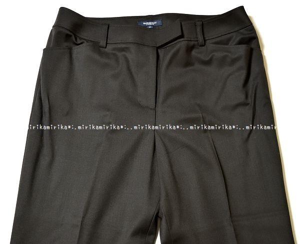 新品同様*BURBERRY バーバリーロンドン 高級 セットアップ パンツスーツ*大きいサイズ15_画像4