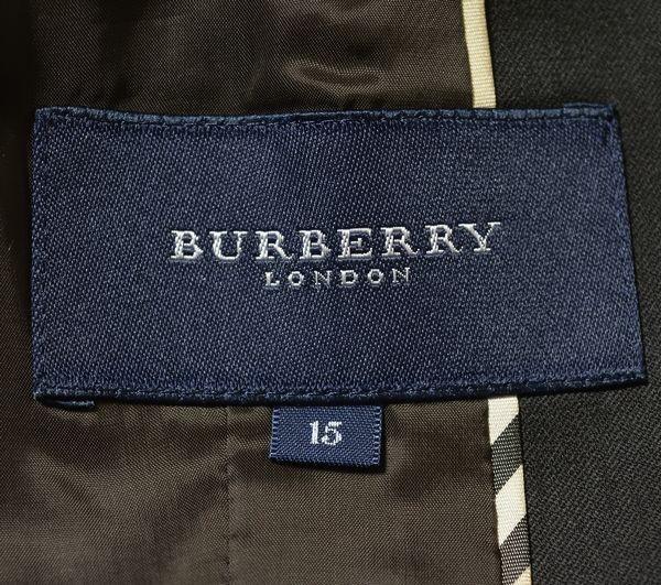 新品同様*BURBERRY バーバリーロンドン 高級 セットアップ パンツスーツ*大きいサイズ15_画像7