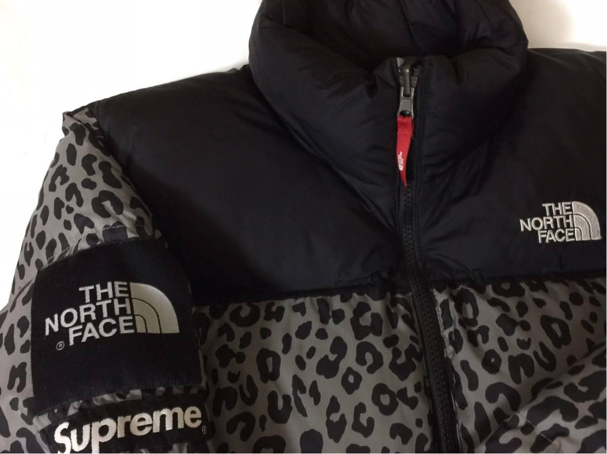 超激安国内直営店購入正規品 Sサイズ supreme × THE NORTH FACE 11aw Leopard Nuptse Dawn Jacket シュプリーム ヌプシダウン レオパード_画像4