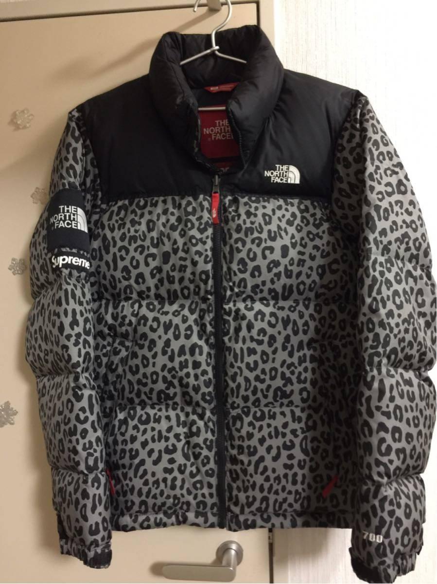 超激安国内直営店購入正規品 Sサイズ supreme × THE NORTH FACE 11aw Leopard Nuptse Dawn Jacket シュプリーム ヌプシダウン レオパード