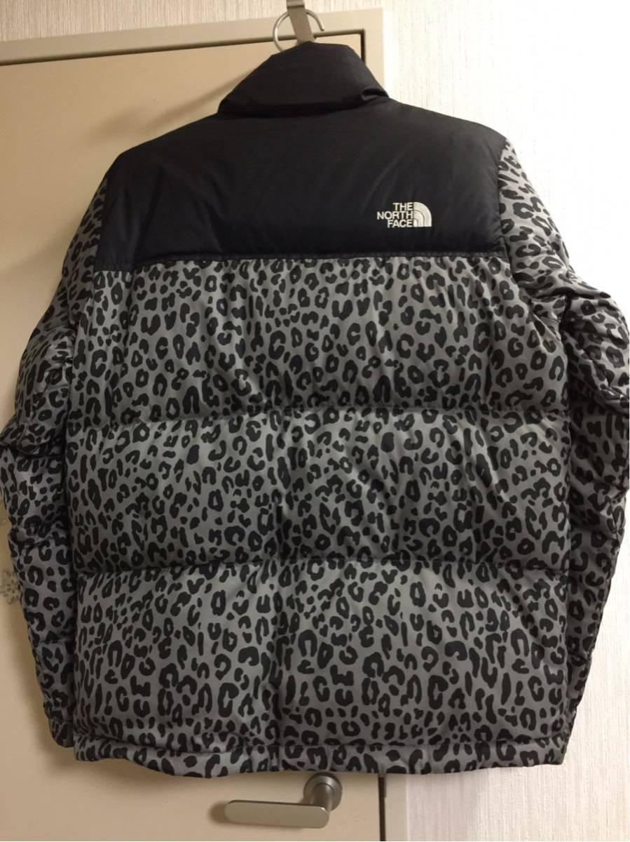 超激安国内直営店購入正規品 Sサイズ supreme × THE NORTH FACE 11aw Leopard Nuptse Dawn Jacket シュプリーム ヌプシダウン レオパード_画像2