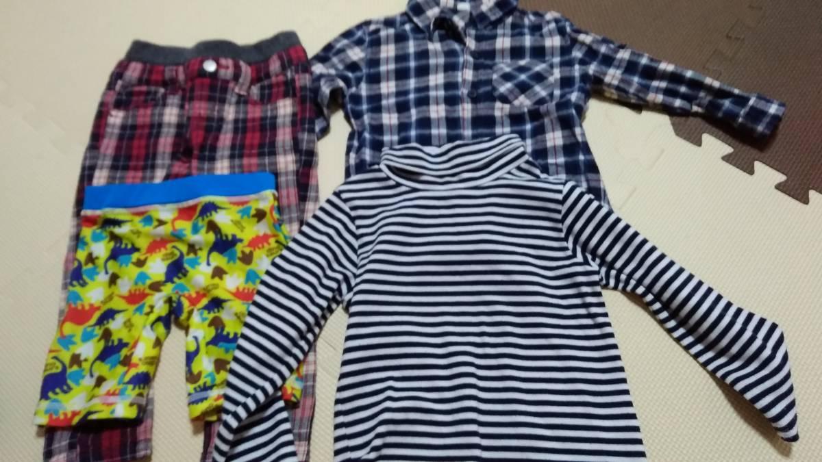 ☆男児用95サイズ水着・服計4枚セット チェロキー、西松屋など☆_画像1
