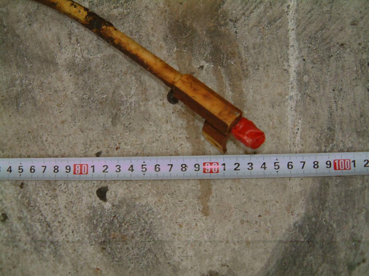 ヤンマー YB121U 油圧パイプ アームライン 長 ミニ ユンボ バックホー ショベル_画像3