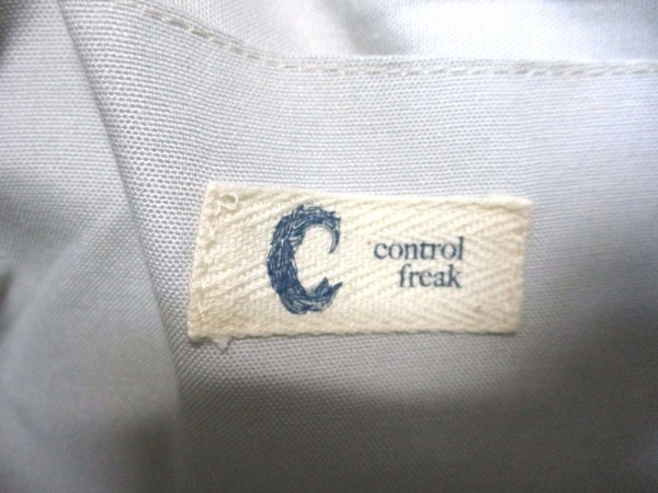 Control Freak/コントロールフリーク◇帆布クラッチバッグ W34cm キャセリーニ_画像9