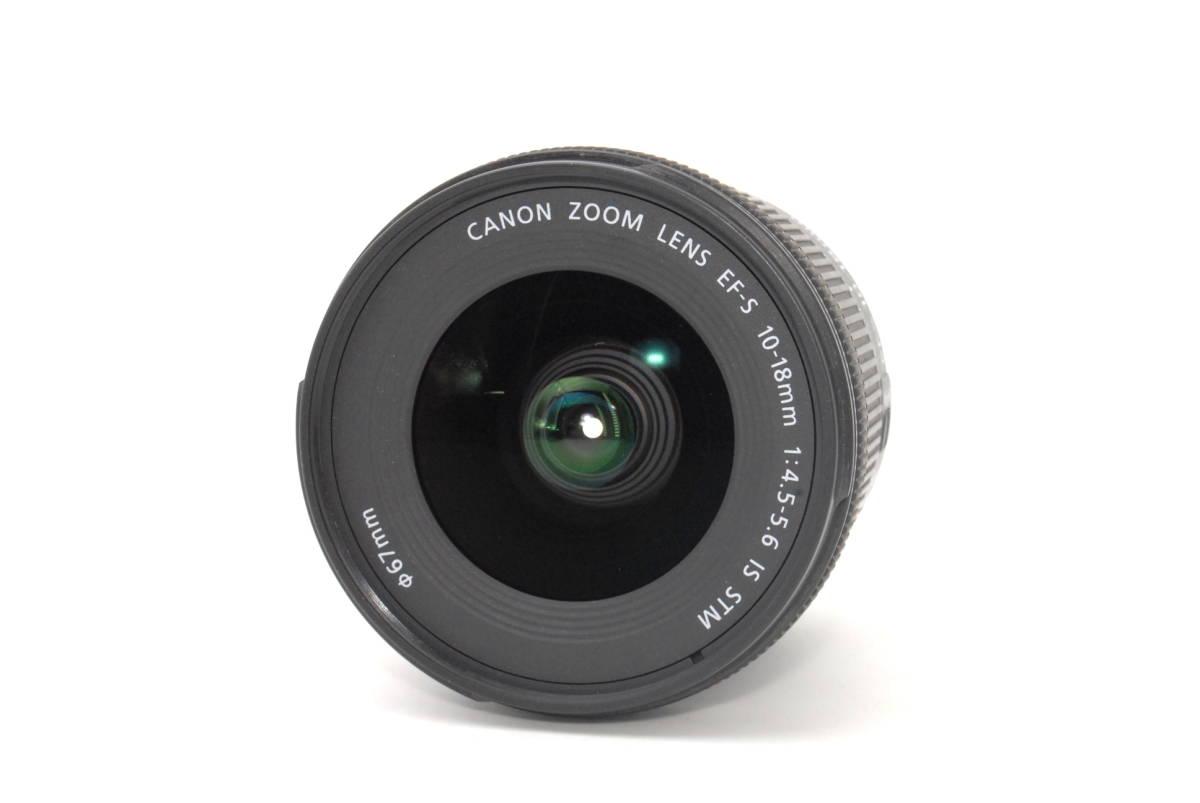 ★いつでも持ち運べるコンパクトサイズ★【超極上】Canon キヤノン EF-S 10-18mm F4.5-5.6 IS STM★安心保証★19081B_画像2