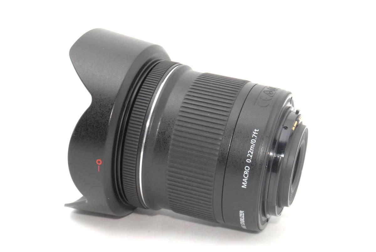 ★いつでも持ち運べるコンパクトサイズ★【超極上】Canon キヤノン EF-S 10-18mm F4.5-5.6 IS STM★安心保証★19081B_画像4