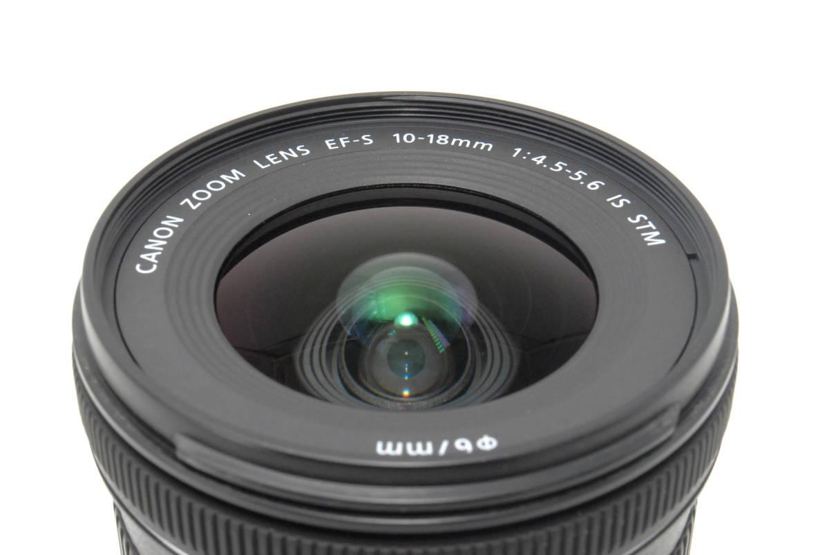 ★いつでも持ち運べるコンパクトサイズ★【超極上】Canon キヤノン EF-S 10-18mm F4.5-5.6 IS STM★安心保証★19081B_画像7